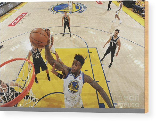 Playoffs Wood Print featuring the photograph Jordan Bell by Andrew D. Bernstein