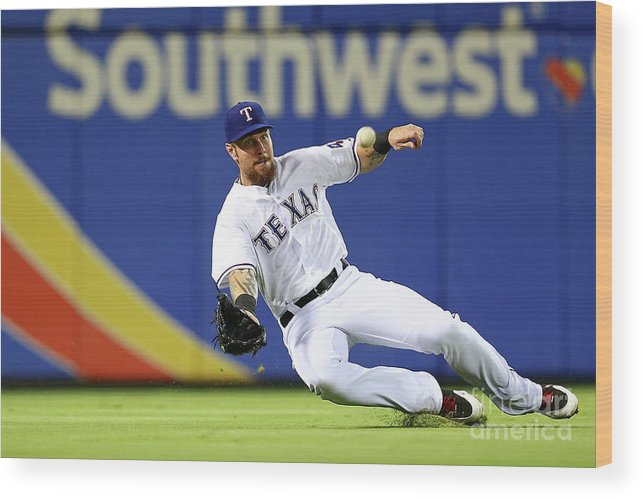 People Wood Print featuring the photograph Josh Hamilton by Sarah Crabill