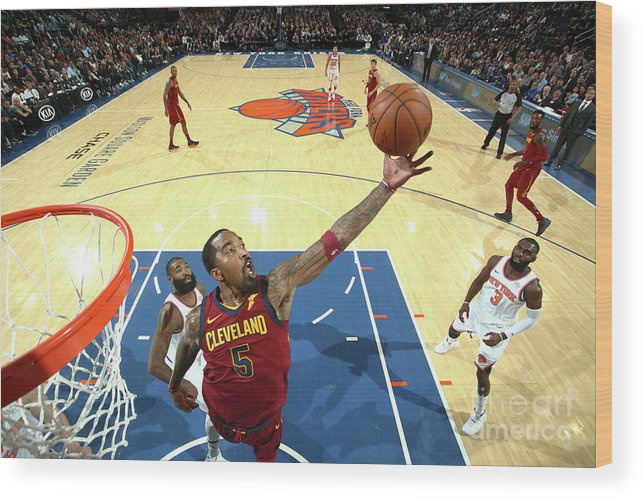 Nba Pro Basketball Wood Print featuring the photograph J.r. Smith by Nathaniel S. Butler
