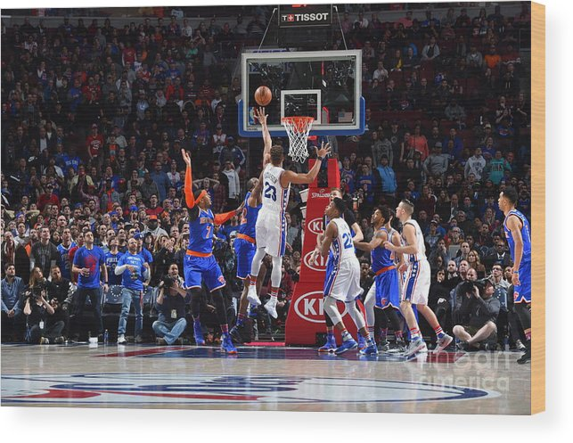 Nba Pro Basketball Wood Print featuring the photograph Justin Anderson by Jesse D. Garrabrant