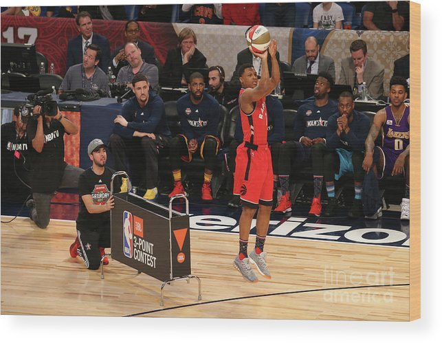 Event Wood Print featuring the photograph Kyle Lowry by Gary Dineen