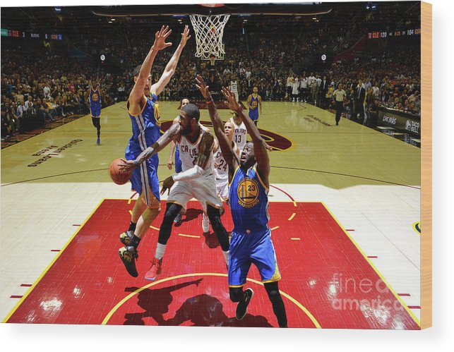Playoffs Wood Print featuring the photograph Kyrie Irving by Jesse D. Garrabrant