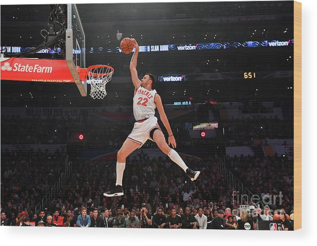 Event Wood Print featuring the photograph Larry Nance by Jesse D. Garrabrant