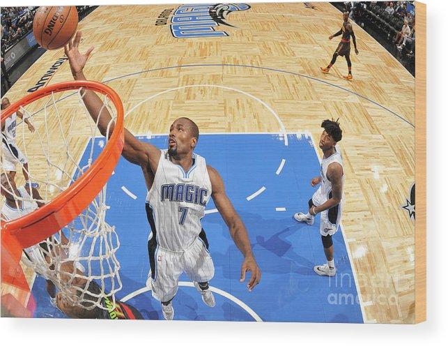 Nba Pro Basketball Wood Print featuring the photograph Serge Ibaka by Fernando Medina
