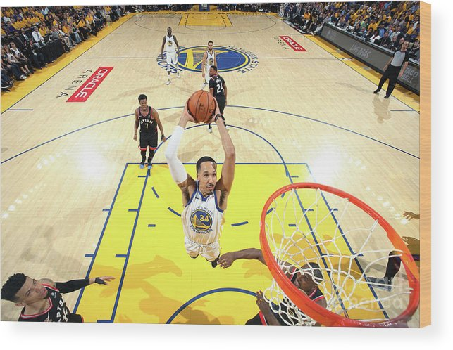Playoffs Wood Print featuring the photograph Shaun Livingston by Nathaniel S. Butler