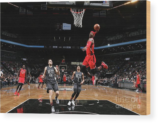 Nba Pro Basketball Wood Print featuring the photograph Terrence Ross by Nathaniel S. Butler