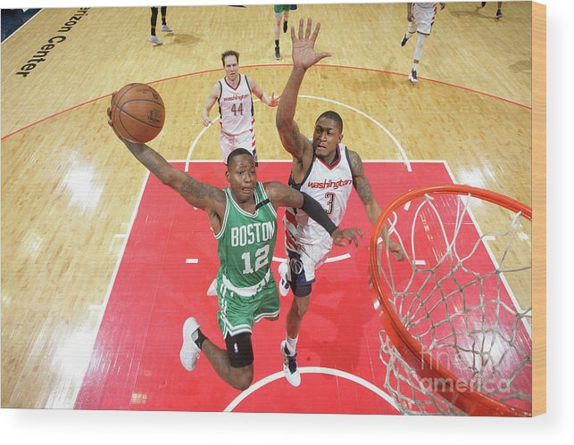 Playoffs Wood Print featuring the photograph Terry Rozier by Ned Dishman