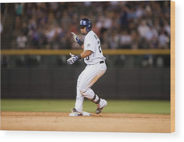 Celebration Wood Print featuring the photograph Wilin Rosario by Dustin Bradford