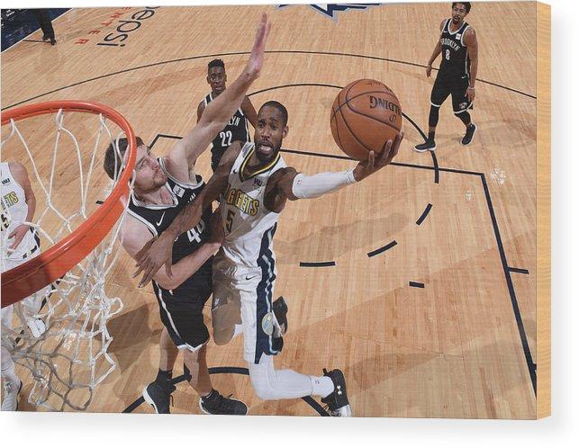 Nba Pro Basketball Wood Print featuring the photograph Will Barton by Garrett Ellwood