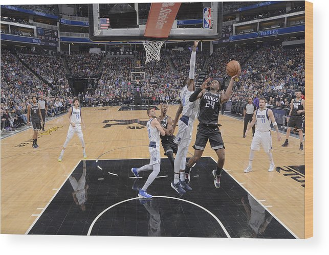 Nba Pro Basketball Wood Print featuring the photograph Buddy Hield by Rocky Widner