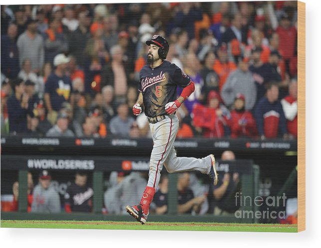People Wood Print featuring the photograph Anthony Rendon by Elsa
