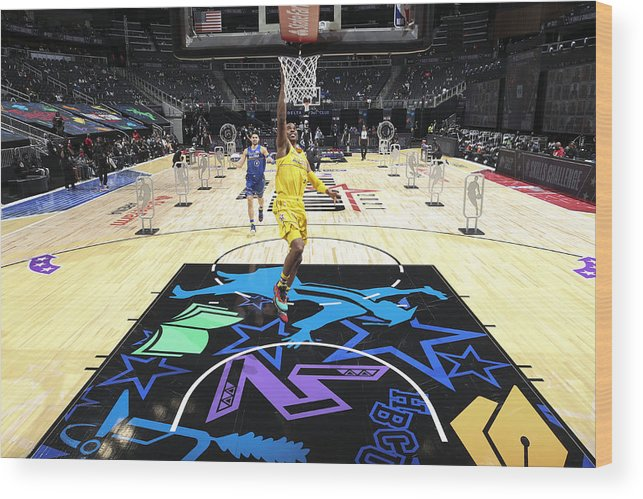 Atlanta Wood Print featuring the photograph Chris Paul by Nathaniel S. Butler