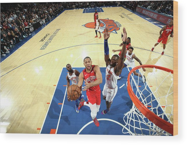 Nba Pro Basketball Wood Print featuring the photograph Eric Gordon by Nathaniel S. Butler