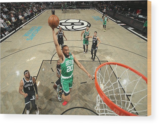 Playoffs Wood Print featuring the photograph Jabari Parker by Nathaniel S. Butler