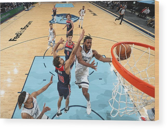 Justise Winslow Wood Print featuring the photograph Justise Winslow by Joe Murphy