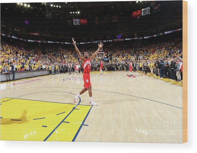 Playoffs Wood Print featuring the photograph Kawhi Leonard by Nathaniel S. Butler