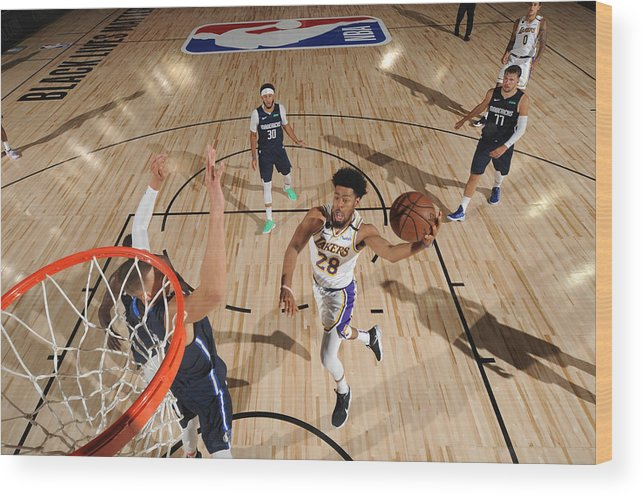 Nba Pro Basketball Wood Print featuring the photograph Quinn Cook by Jesse D. Garrabrant