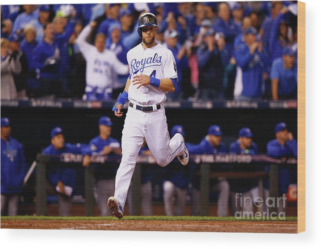 People Wood Print featuring the photograph Alex Gordon by Jamie Squire