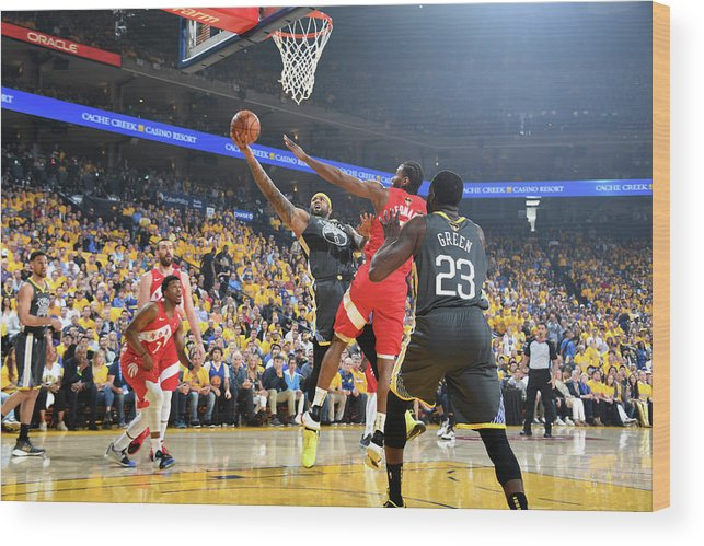 Playoffs Wood Print featuring the photograph Demarcus Cousins by Andrew D. Bernstein