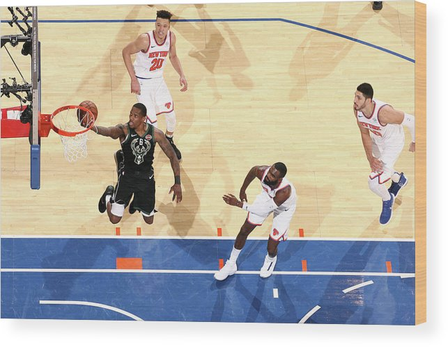 Nba Pro Basketball Wood Print featuring the photograph Eric Bledsoe by Nathaniel S. Butler