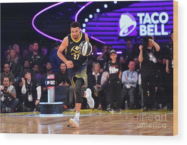 Event Wood Print featuring the photograph Jamal Murray by Jesse D. Garrabrant