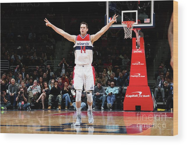 Nba Pro Basketball Wood Print featuring the photograph Jason Smith by Ned Dishman