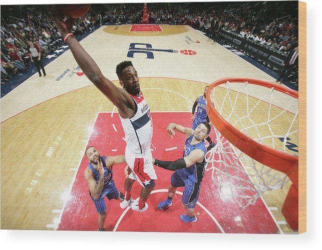 Nba Pro Basketball Wood Print featuring the photograph Jeff Green by Ned Dishman