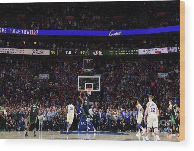 Playoffs Wood Print featuring the photograph Al Horford by Jesse D. Garrabrant