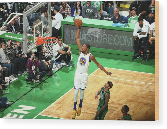Nba Pro Basketball Wood Print featuring the photograph Kevin Durant by Nathaniel S. Butler
