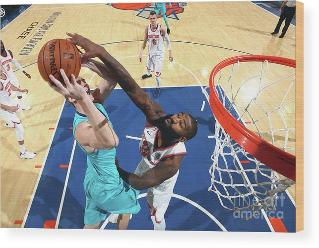 Nba Pro Basketball Wood Print featuring the photograph Kyle O'quinn by Nathaniel S. Butler
