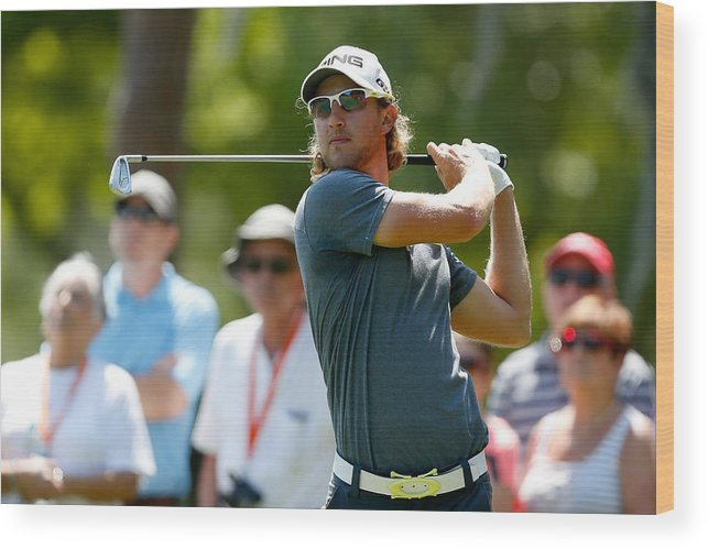 Florida Wood Print featuring the photograph Valspar Championship - Final Round by Mike Lawrie