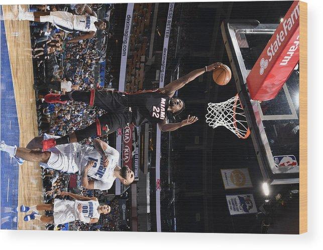 Nba Pro Basketball Wood Print featuring the photograph Jimmy Butler by Fernando Medina
