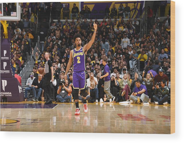 Nba Pro Basketball Wood Print featuring the photograph Quinn Cook by Andrew D. Bernstein