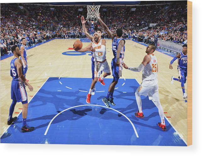 Nba Pro Basketball Wood Print featuring the photograph Vince Carter by Jesse D. Garrabrant