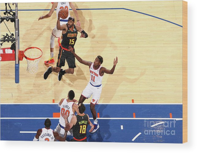 Nba Pro Basketball Wood Print featuring the photograph Vince Carter by Nathaniel S. Butler