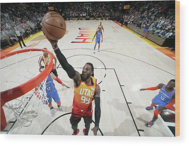 Nba Pro Basketball Wood Print featuring the photograph Jae Crowder by Melissa Majchrzak