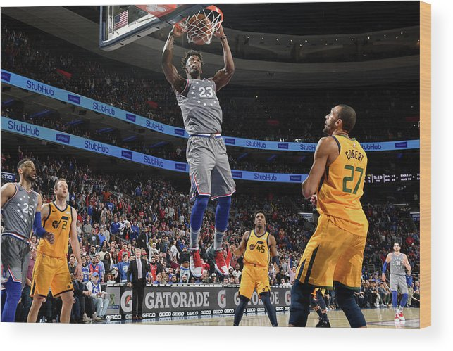 Nba Pro Basketball Wood Print featuring the photograph Jimmy Butler by Jesse D. Garrabrant
