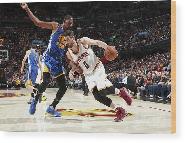 Playoffs Wood Print featuring the photograph Kevin Love by Nathaniel S. Butler