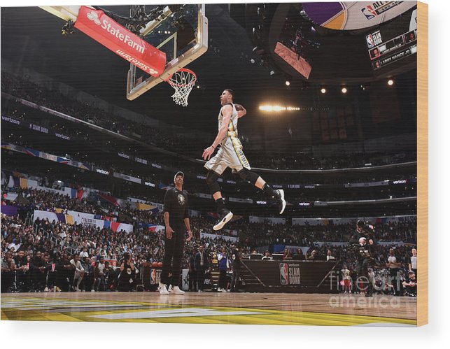 Event Wood Print featuring the photograph Larry Nance by Andrew D. Bernstein