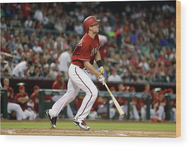 People Wood Print featuring the photograph Paul Goldschmidt by Christian Petersen
