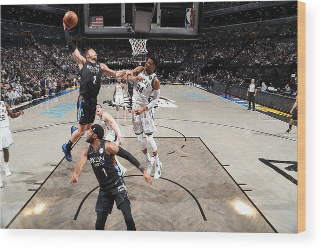 Playoffs Wood Print featuring the photograph Blake Griffin by Nathaniel S. Butler