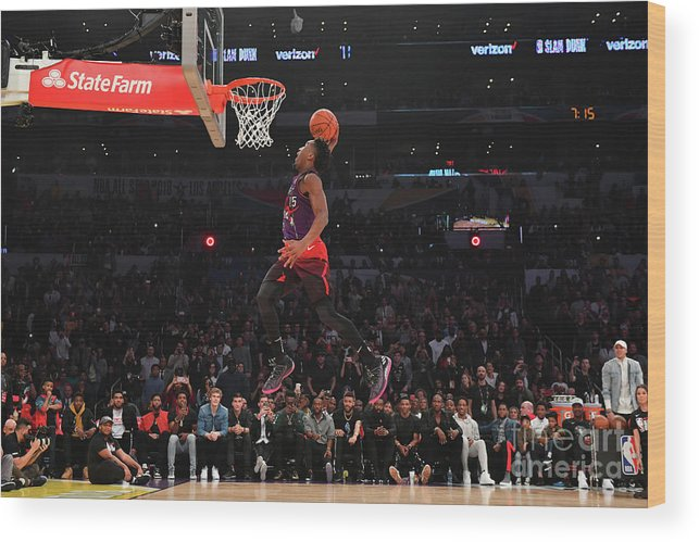 Event Wood Print featuring the photograph Donovan Mitchell by Jesse D. Garrabrant
