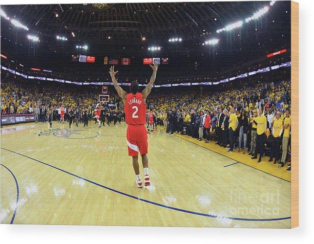 Playoffs Wood Print featuring the photograph Kawhi Leonard by Jesse D. Garrabrant