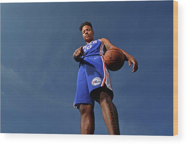 Nba Pro Basketball Wood Print featuring the photograph Markelle Fultz by Jesse D. Garrabrant