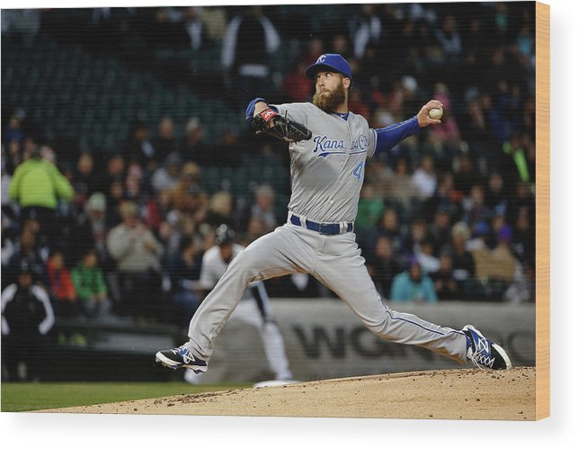 People Wood Print featuring the photograph Alex Gordon by Jon Durr