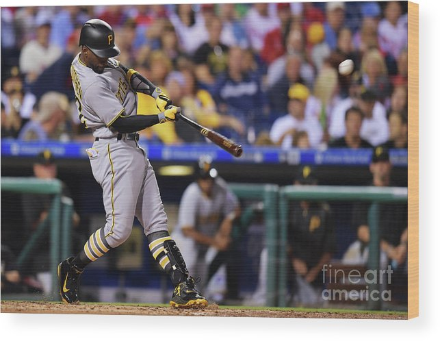 People Wood Print featuring the photograph Andrew Mccutchen by Drew Hallowell
