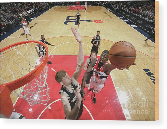 Nba Pro Basketball Wood Print featuring the photograph Andrew Nicholson by Ned Dishman