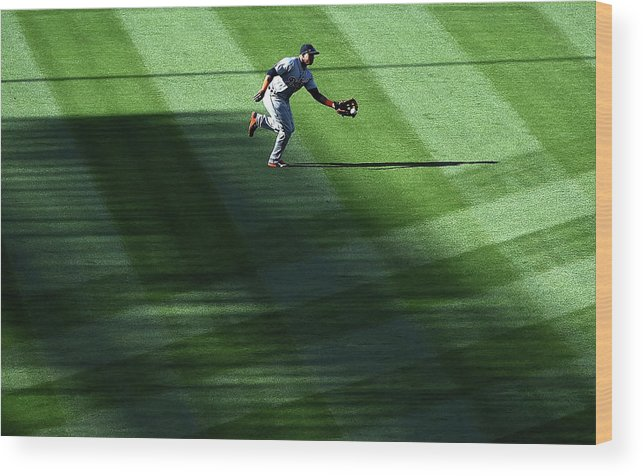 Second Inning Wood Print featuring the photograph Anthony Gose by Harry How
