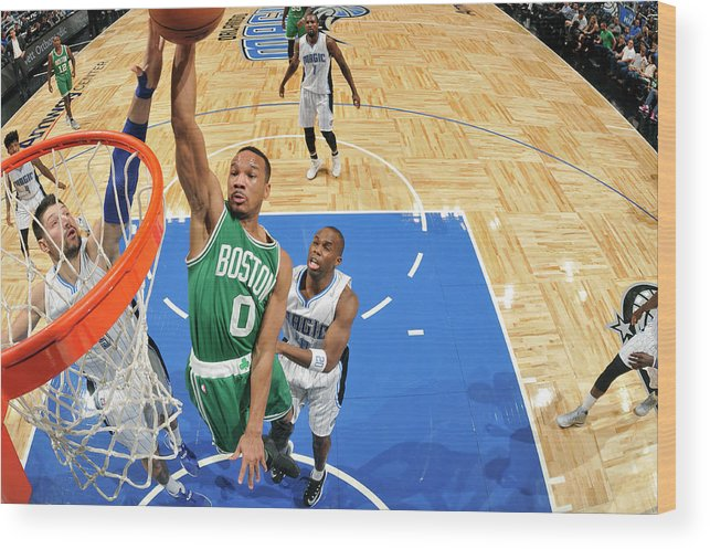 Nba Pro Basketball Wood Print featuring the photograph Avery Bradley by Fernando Medina