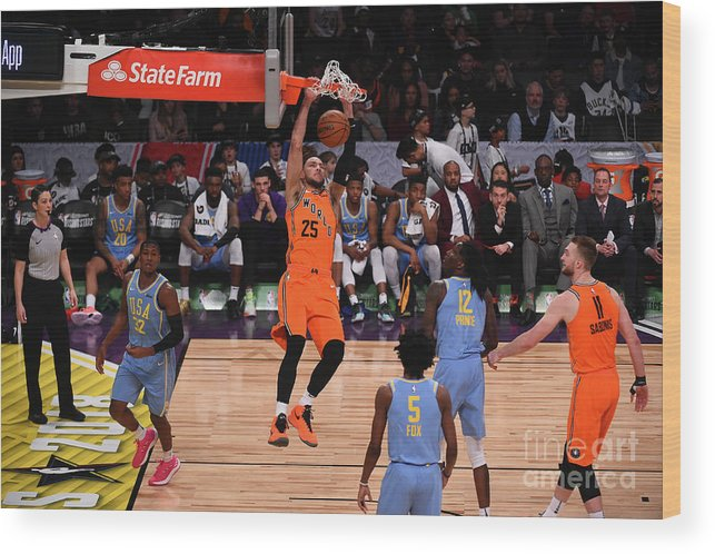 Event Wood Print featuring the photograph Ben Simmons by Noah Graham